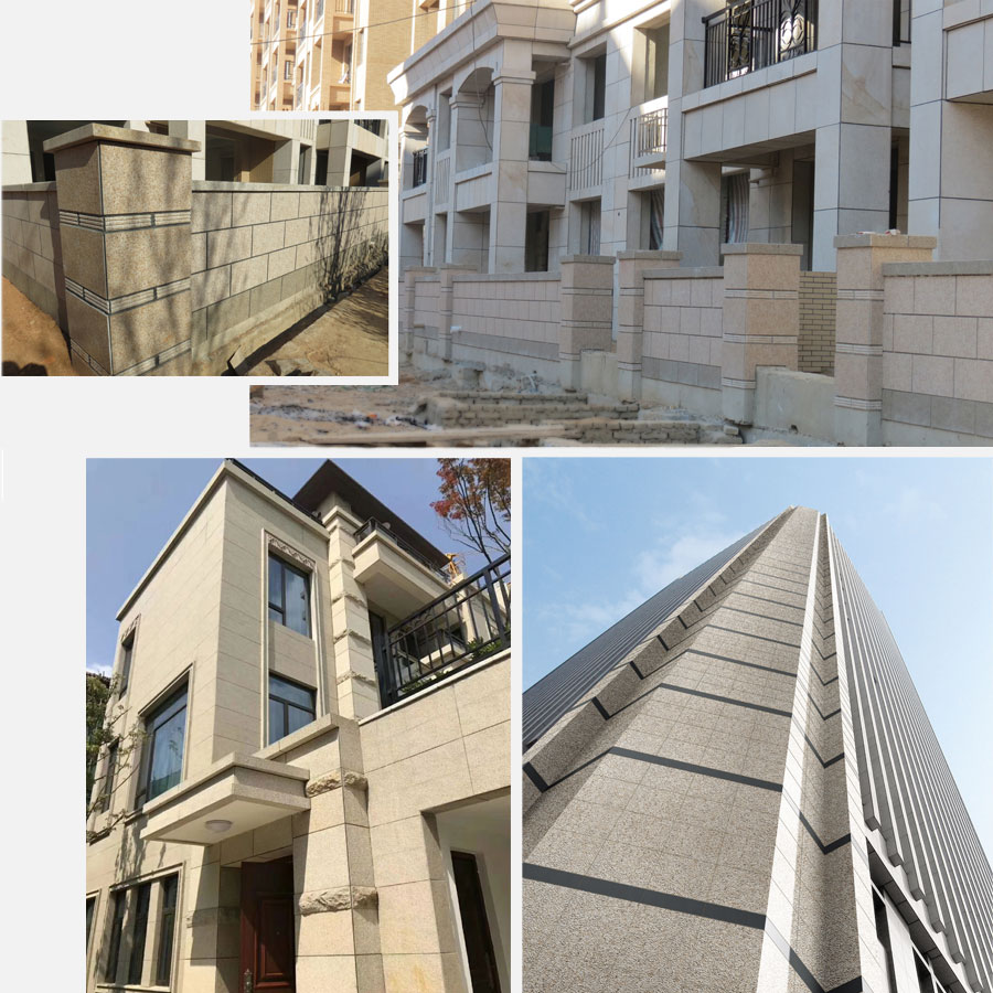 Exterior Wall Cladding materials