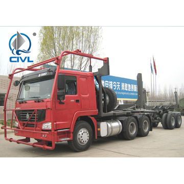 Sinotruk HOWO 2 axles log transpport truck