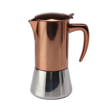 Premium Quality Stainless Steel Moka Pot
