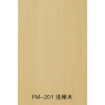 Fireproof and waterproof wood grain fiber cement board