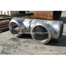 Hot Dipped Galvanized Butt Weld Equal Tee