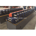High-speed No-stop cutting C purlin roll forming machine