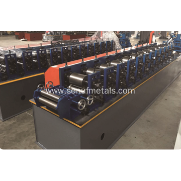 High-speed Non-stop cutting CU purlin roll forming machine