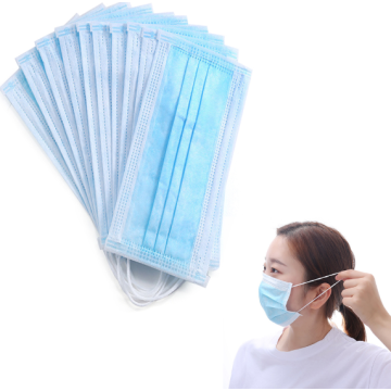 disposable nonwoven 3 ply face masks