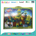 Bloco Robots Invasion diy beads craft