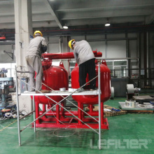 Shallow Sand Filter Equipment for Plants Water Treatment