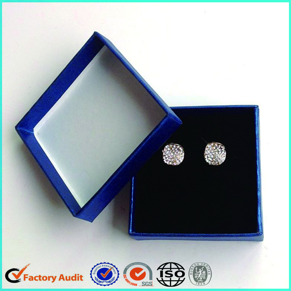 Earring Packaging Boxes Custom Logo Foam Insert
