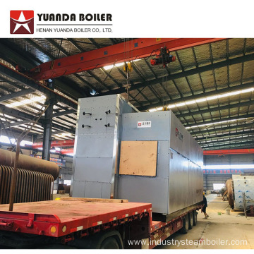 SZS Big Capacity Gas Water Tube Steam Boiler