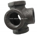 Cast Pipe Fitting 5 Way  Female Cross