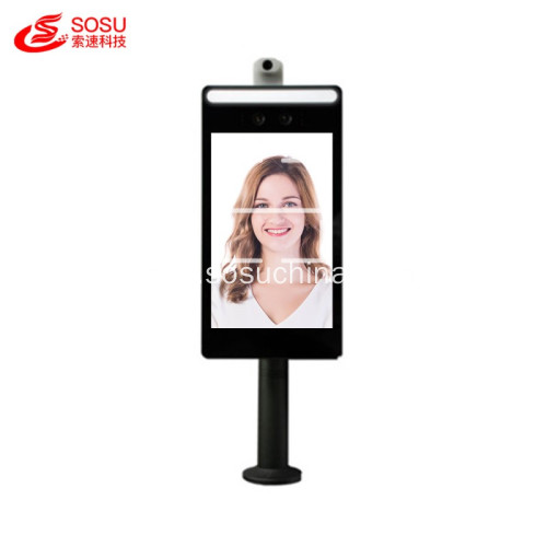 popular Face Recognition Temperature Detection 8 inch