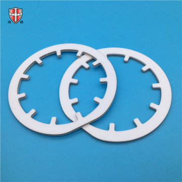 industrial aluminum oxide ceramic custom laser gear ring