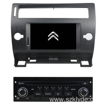 Android Citroen C4 2005-2011 Car Multimedia Player