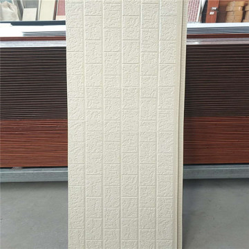 External embossed metal insulation wall cladding