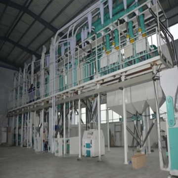 Small scale maize milling machine for making flour