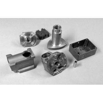 Customized high pressure aluminum and zinc mold castings