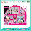 DISNEY MINNIE MOUSE carry art set