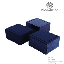 Wholesale Black Cheap Cufflink Gift Box