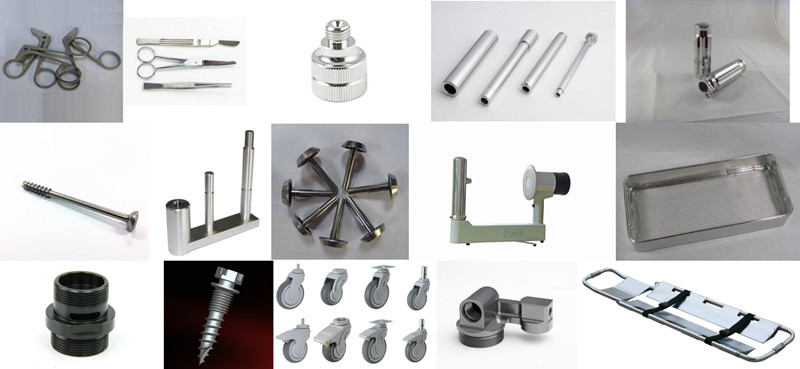 3 Medical Equipment parts