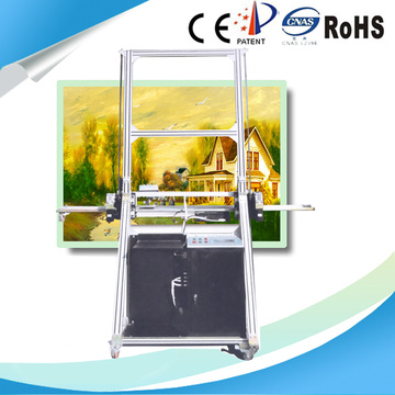 Direct Outdoor Decoration Horizontal Wall Piezoelectric Inkjet Printer