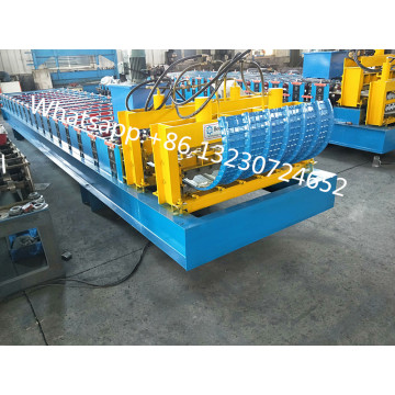 Metal Roof Sheet Forming and Crimping Machine