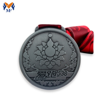 Custom fun run race metal medals