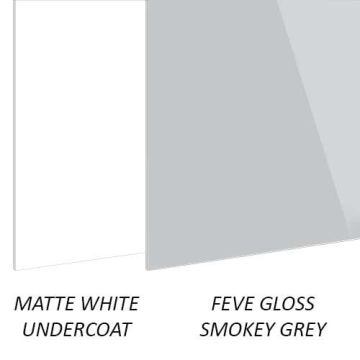 Building Boards FEVE Gloss Smokey Grey Aluminium Sheets