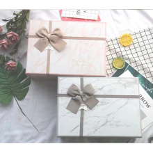 Marble Pattern Hot Stamping Gift Box