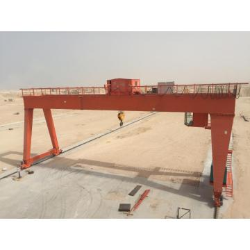 75ton double girder long traveling gantry crane design