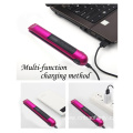 RECHARGEABLE MINI HAIR STRAIGHTENER