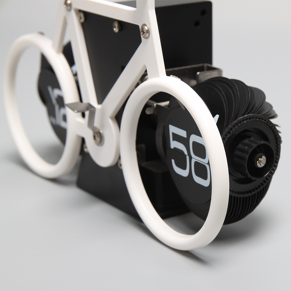 Bicycle Flip Clocks for Table