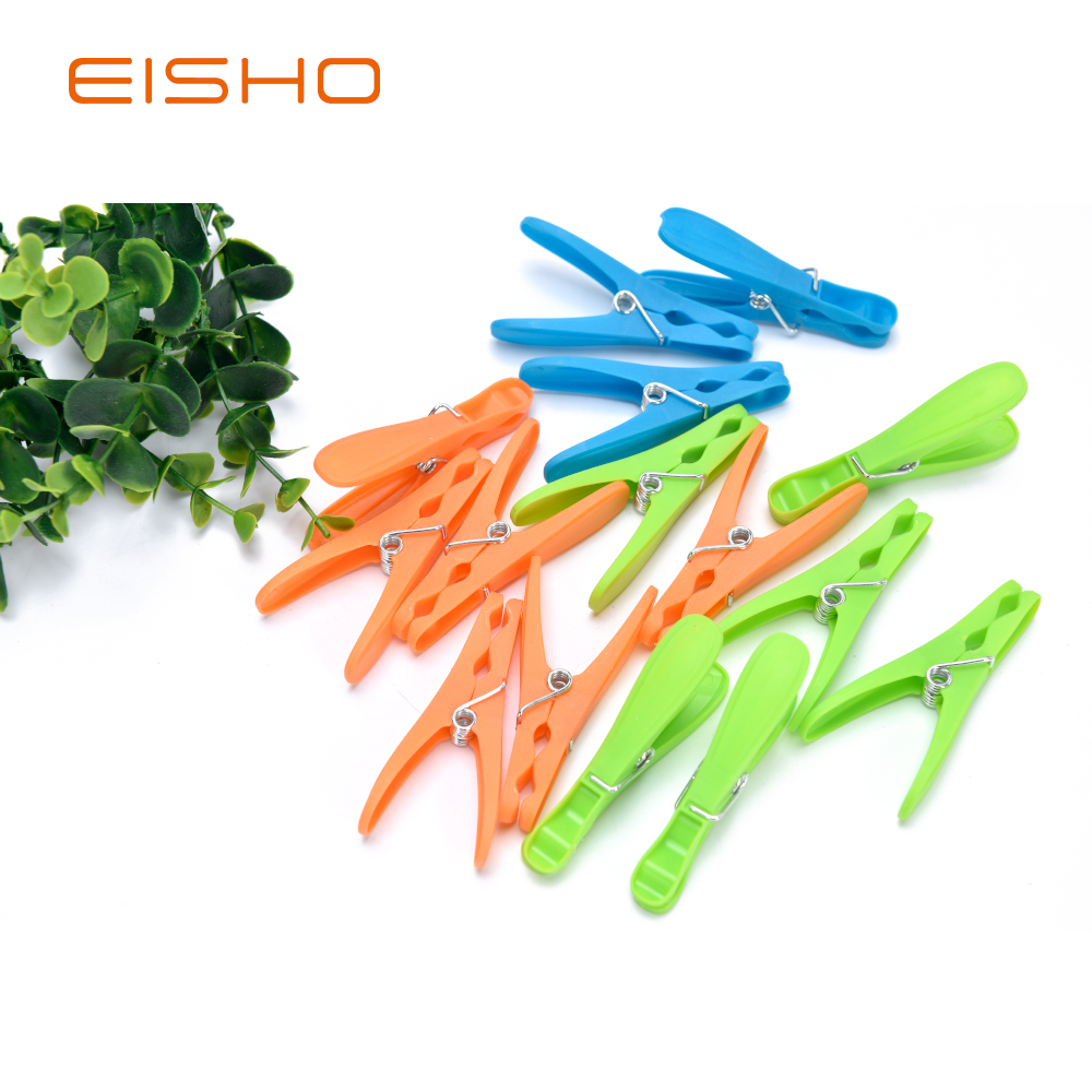 Eisho Plastic Clips Clothes Pegs Clothespins 26 1
