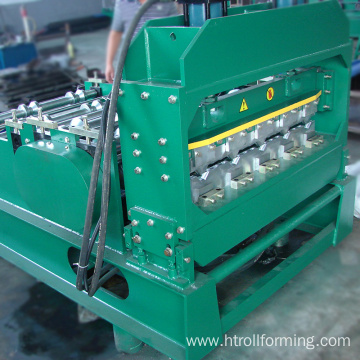 China OEM 300mm H shape steel welding corrugated curving machine