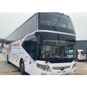 Used Yutong 6127 59 seats coach bus