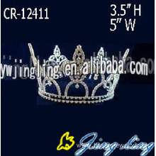 Full Round Beauty Queen Pageant Crowns