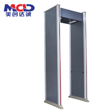 Precise Intelligent Safy Airport Body Checker Alarm Indicator Door Frame Metal Detector 6 Zones