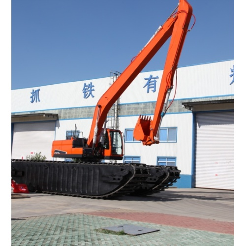 Silt Cleaning Water-Land Excavator