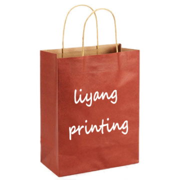 Hot sale kraft paper bag shopping bag