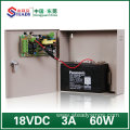 Access Control Power supply with Backup(18V3.3A)
