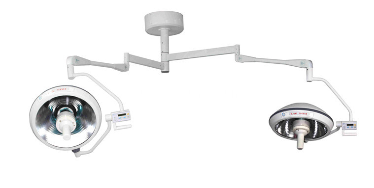 Overall shadowless surgical room operating lamps