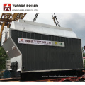 DZH Horizontal 4 ton Coal Fired Steam Boiler