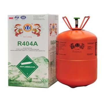 Refrigerant gas R404A for refrigeration