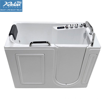 Walk in bathtub shower combo for elderly
