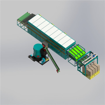 30m 3 Deck Veneer Roller Jet Dryer