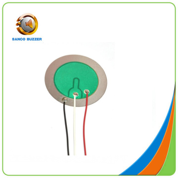 Piezo Ceramic element 35mm 3.2Khz with wires