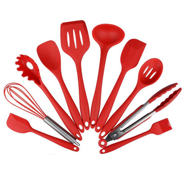 Eco-friendly Silicone Kitchen Utensils 10 piece set