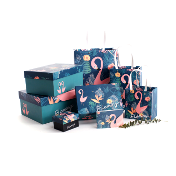Custom Logo Printed Colorful Paper Shoe Box