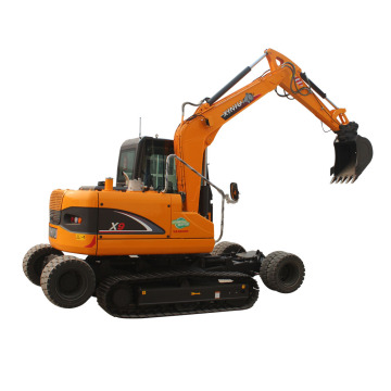 wheel-cawler excavator X9 from Rhinoceros factory