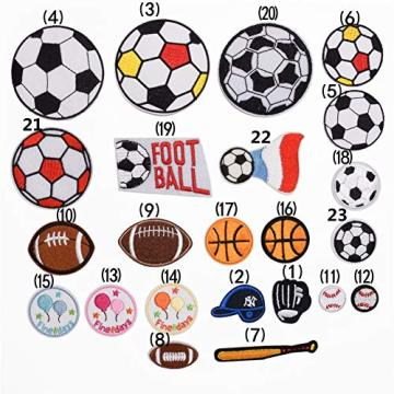 Ball Sports Games Iron on Patch Fabric Children