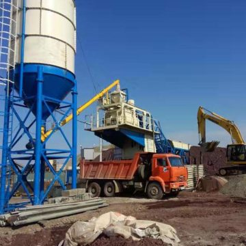 YHZS 25-75m3/h Mobile Concrete Plant with factory price