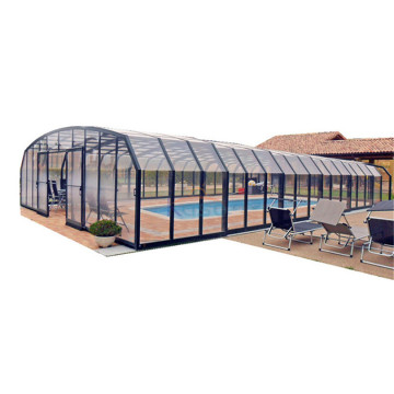 Glass Plastic Swimming Pool Cover Tent